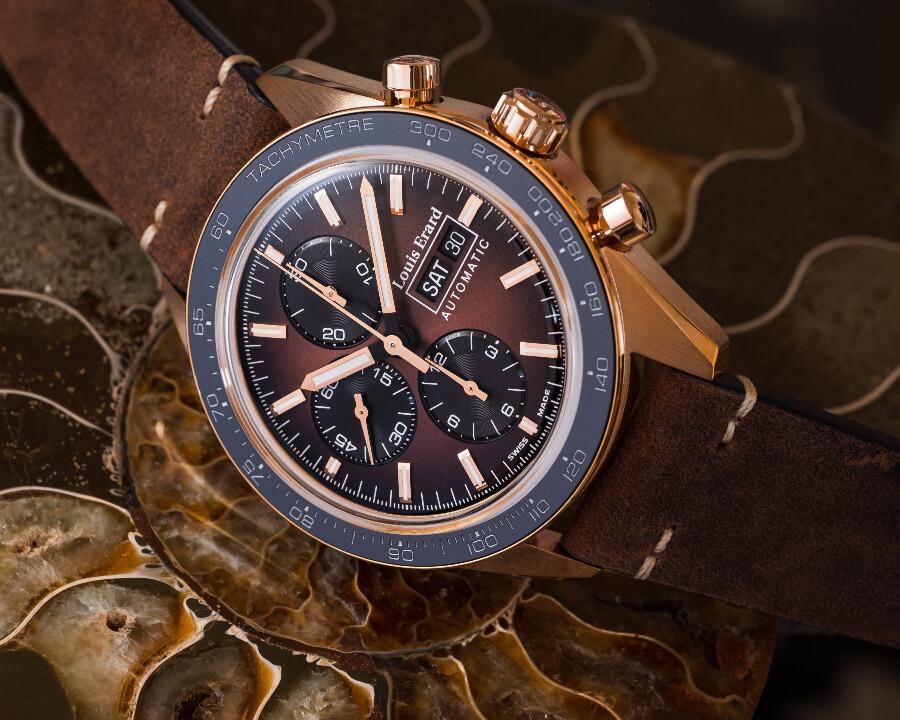 Vintage Valoux Chronoraph Watch
