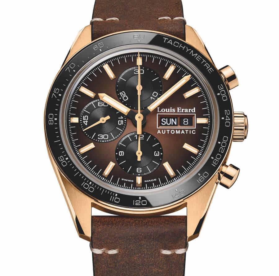 Bronze Chronograph Watch
