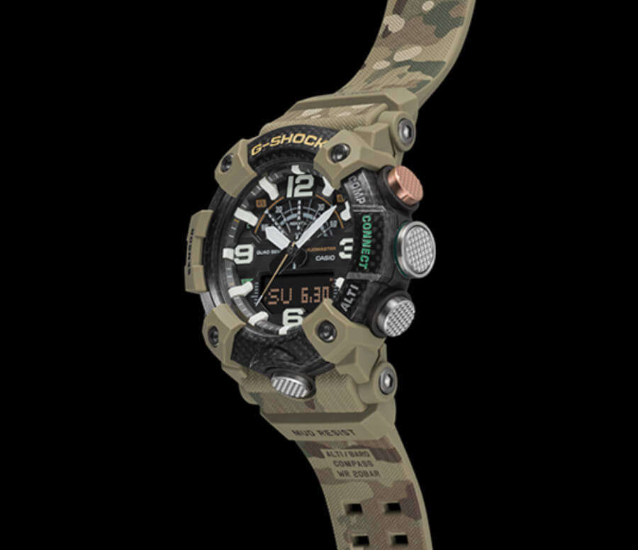 The New Casio British Army X G-Shock Mudmaster Ref. GGB100BA-1A