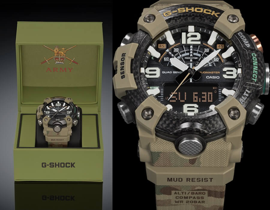 Casio British Army X G-Shock Mudmaster Ref. GGB100BA-1A Watch Review