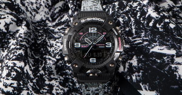 Casio Burton x G-Shock Mudmaster Watch Ref. GGB100BTN-1A (Price, Pictures and Specifications)