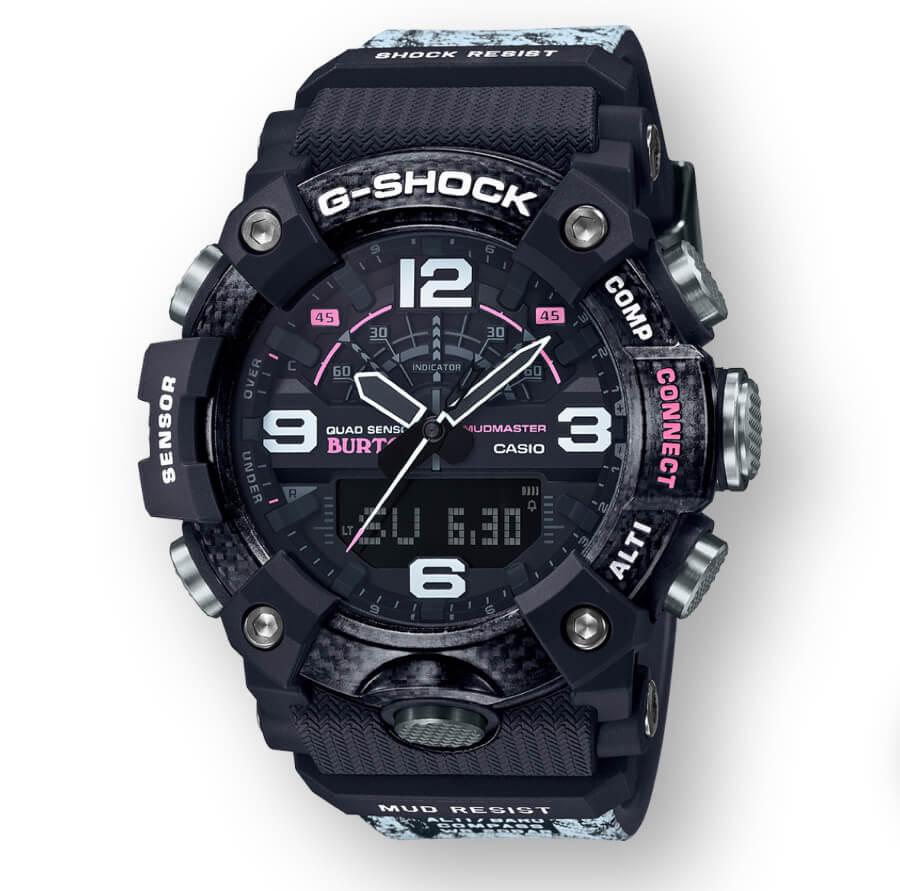 Casio Burton x G-Shock Mudmaster Watch Ref. GGB100BTN-1A
