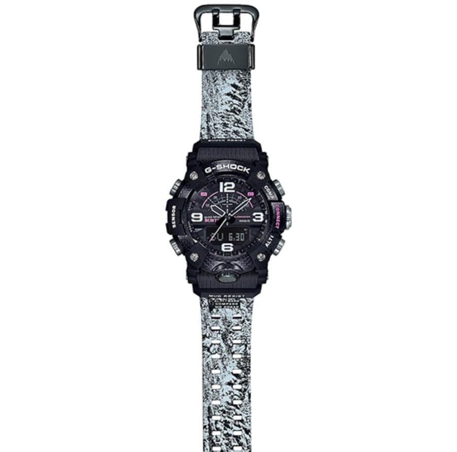 The New Casio Burton x G-Shock Mudmaster Watch Ref. GGB100BTN-1A