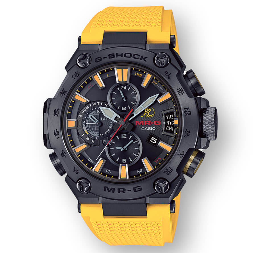 Casio G-Shock MR-G X Bruce Lee Model Ref. MRGG2000BL-9A