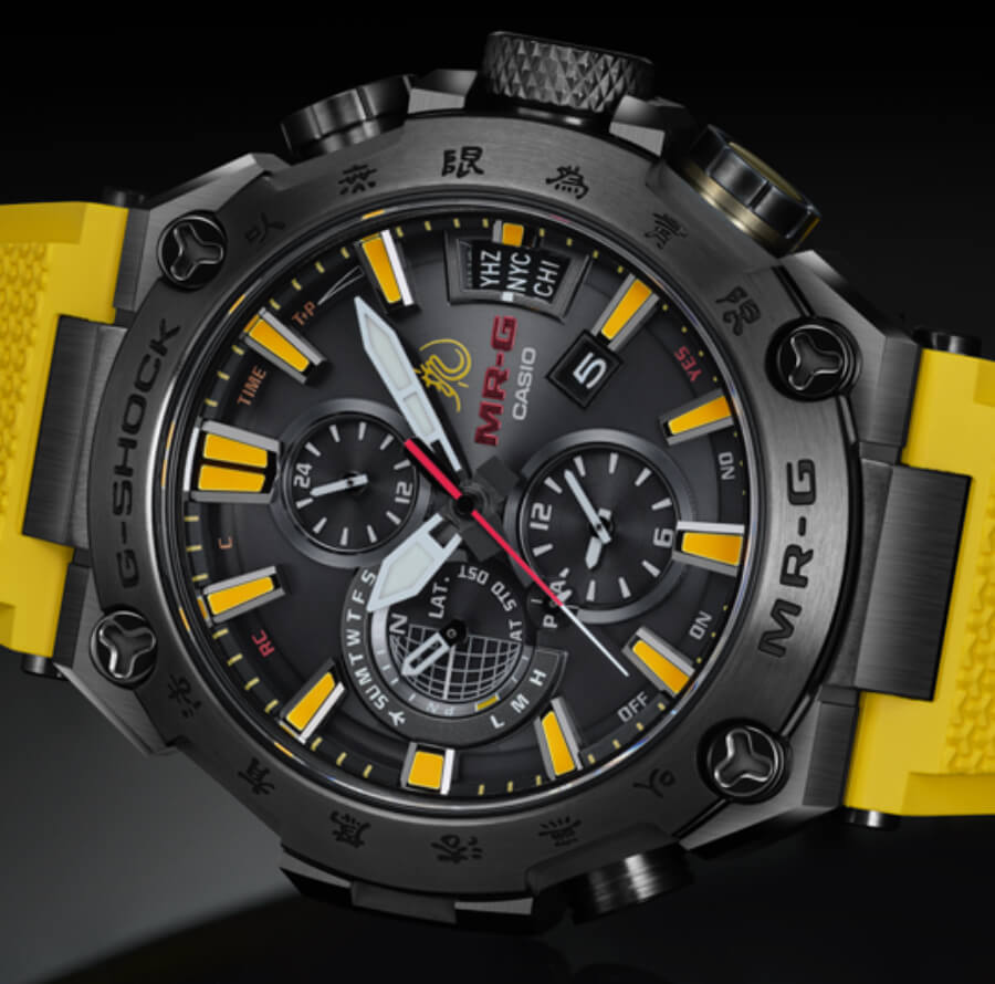 Casio G-Shock MR-G X Bruce Lee Model Ref. MRGG2000BL-9A Watch Review