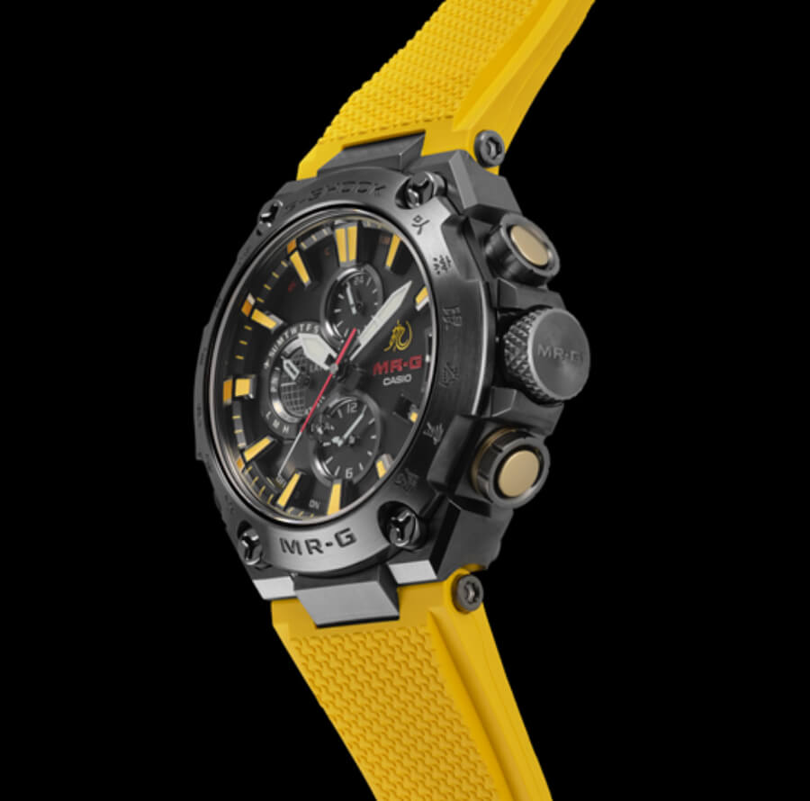 The New Casio G-Shock MR-G X Bruce Lee Model Ref. MRGG2000BL-9A