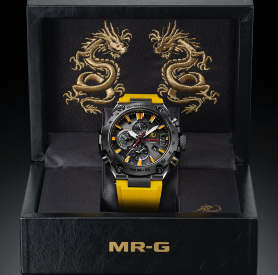Casio G-Shock MR-G X Bruce Lee Model Ref. MRGG2000BL-9A Full Box for sale