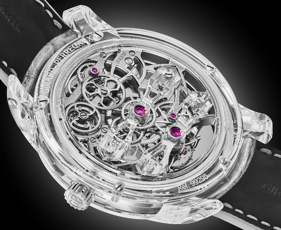 Swiss Tourbillon Movement Watch