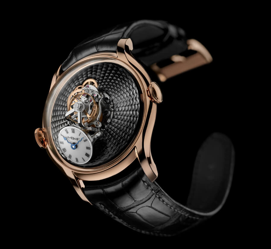 MB&F Legacy Machine FlyingT Red Gold