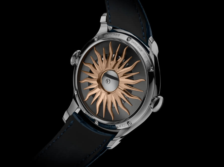 MB&F Legacy Machine FlyingT Watch Case