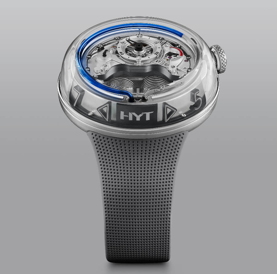 HYT H5 Blue Edition Watch Review