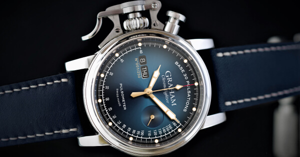 Graham Chronofighter Vintage Pulsometer Ltd (Price, Pictures and Specifications)