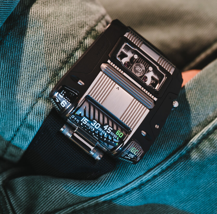 Urwerk UR-111C Two-Tone Men Watches