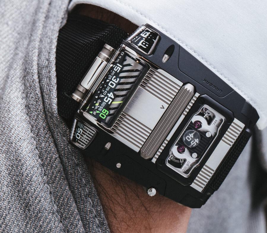 Hands On Urwerk UR-111C Two-Tone Watch