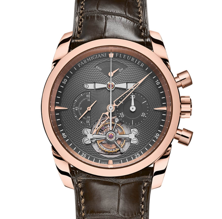 The New Parmigiani Fleurier Tondagraph Tourbillon