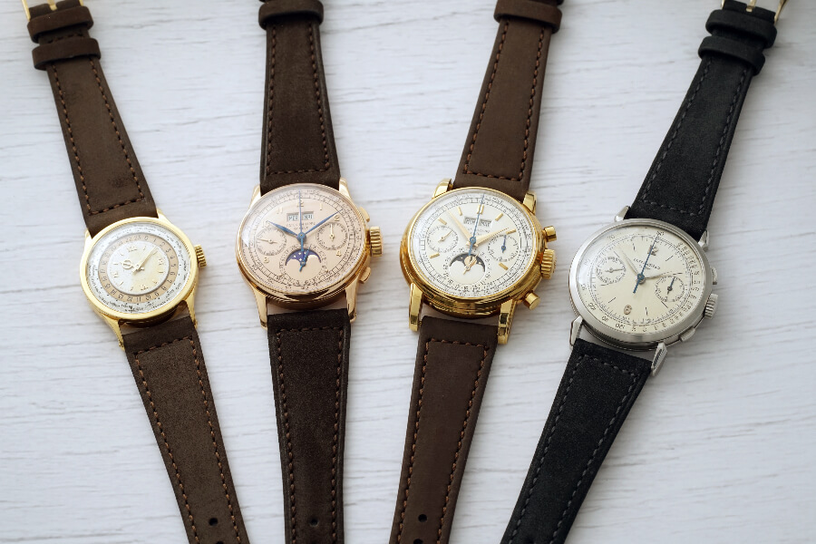 Jean-Claude Biver Patek Philippe Collection of Patek Philipe 1518, 2499, 1579 and 96HU
