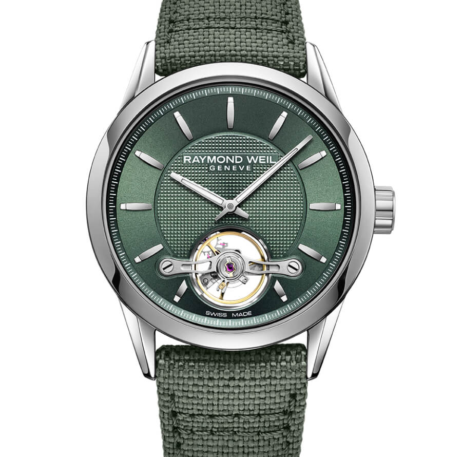 Raymond Weil Freelancer Calibre RW1212 Green Ref. 2780 STC 52001