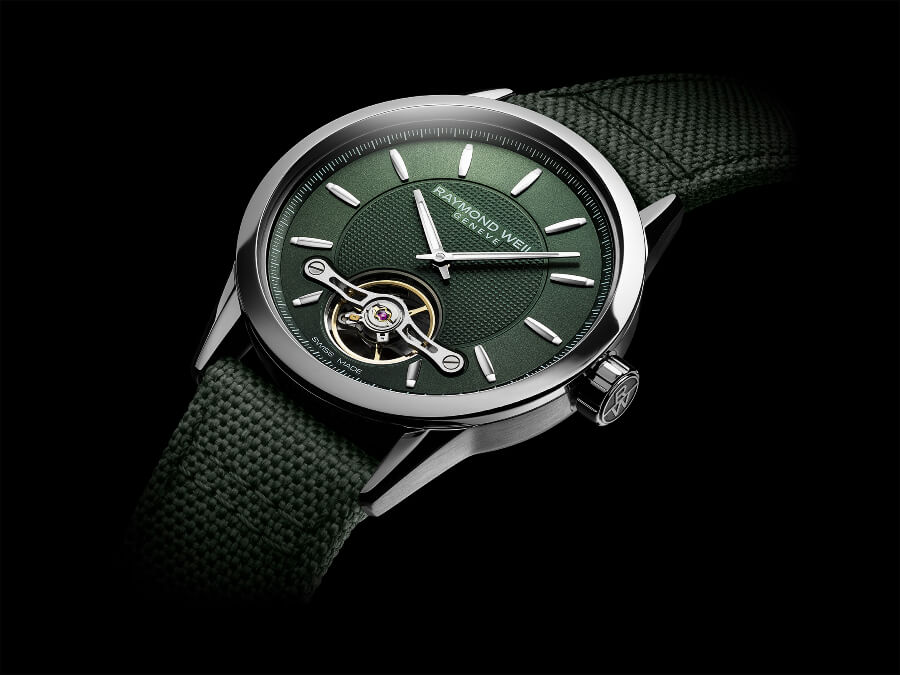 Raymond Weil Freelancer Calibre RW1212 Green Watch Review