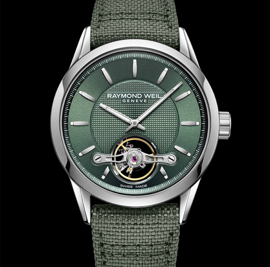 The New Raymond Weil Freelancer Calibre RW1212 Green Ref. 2780 STC 52001
