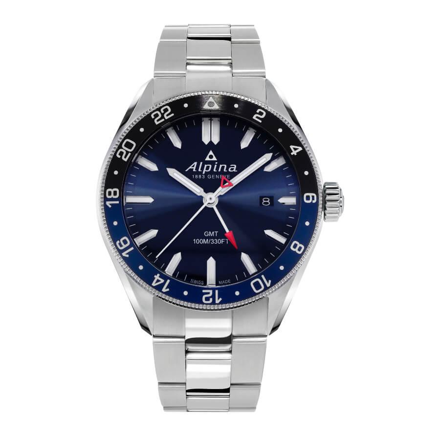 Men Watch Alpina Alpiner Quartz GMT