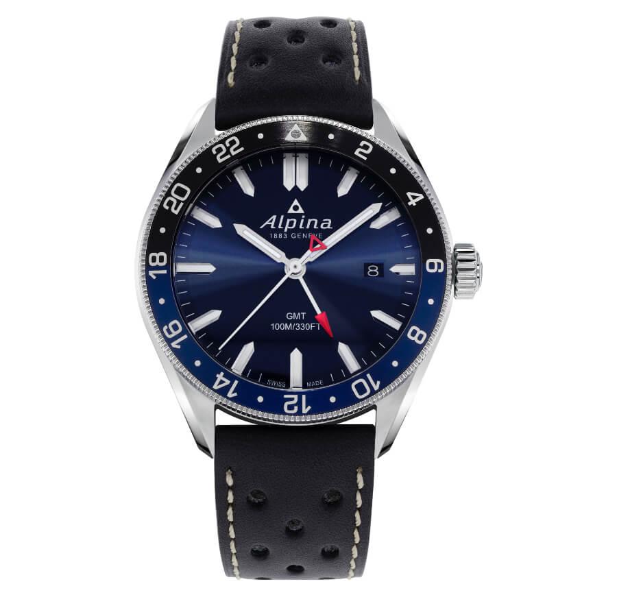 Alpina Men Watch GMT Function