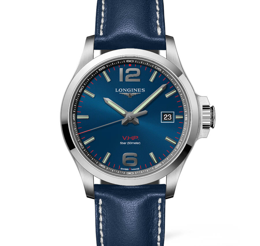 Longines Conquest V.H.P. Blue Dial