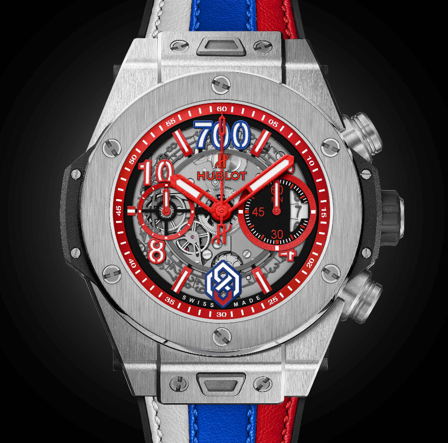 Hublot Big Bang Unico Titanium Alexander Ovechkin's 700th career goal