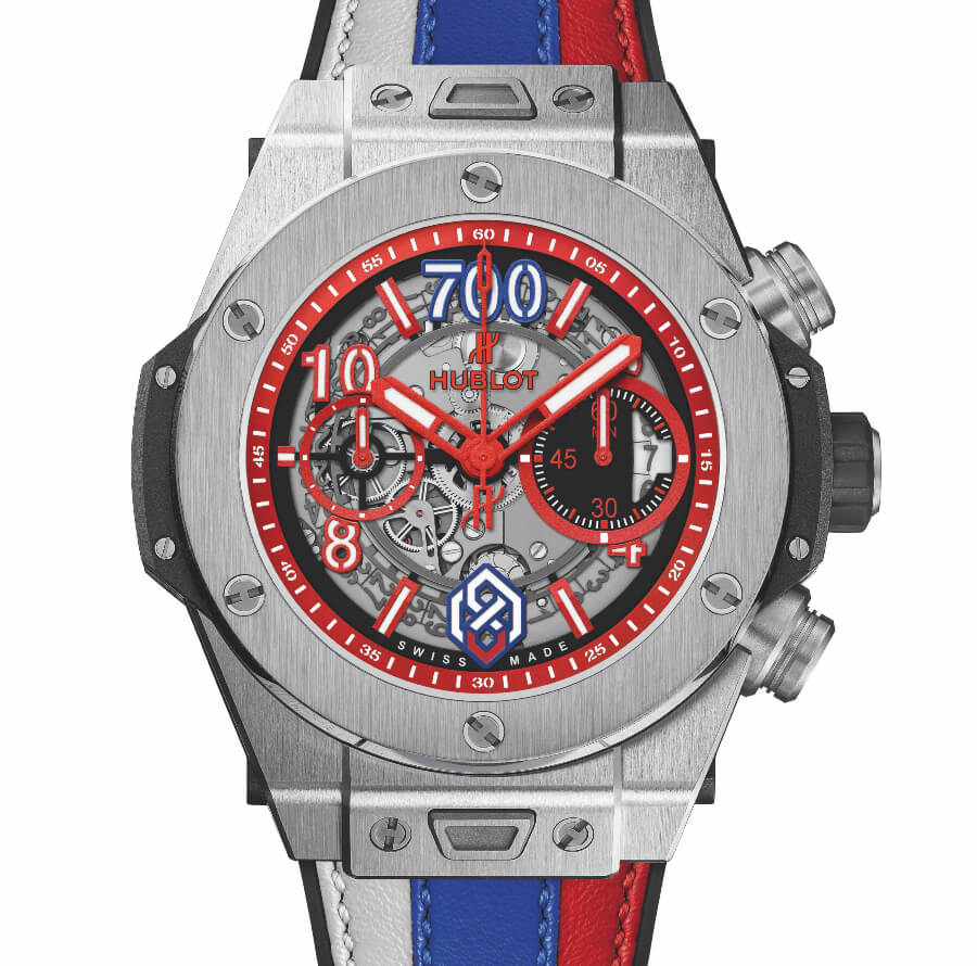 The new Hublot Big Bang Unico Titanium Alexander Ovechkin