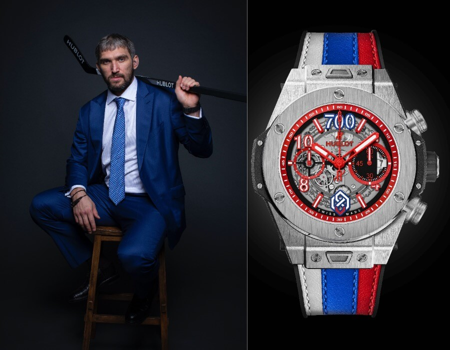 Alexander Ovechkin Watch Collection Hublot