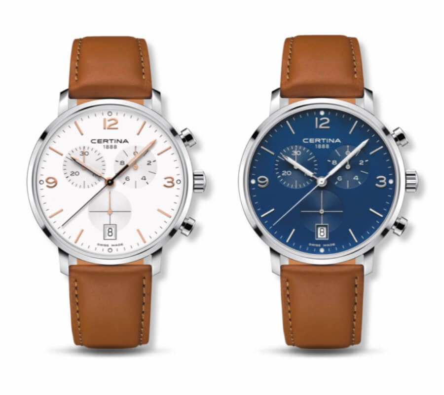 The New Certina DS Caimano Chronograph