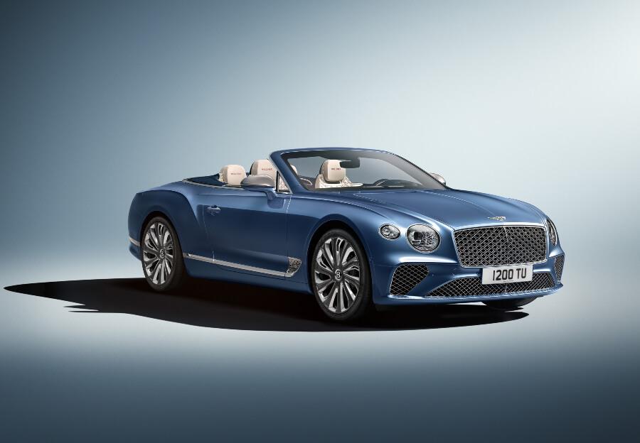 Bentley's Continental GT Mulliner Convertible