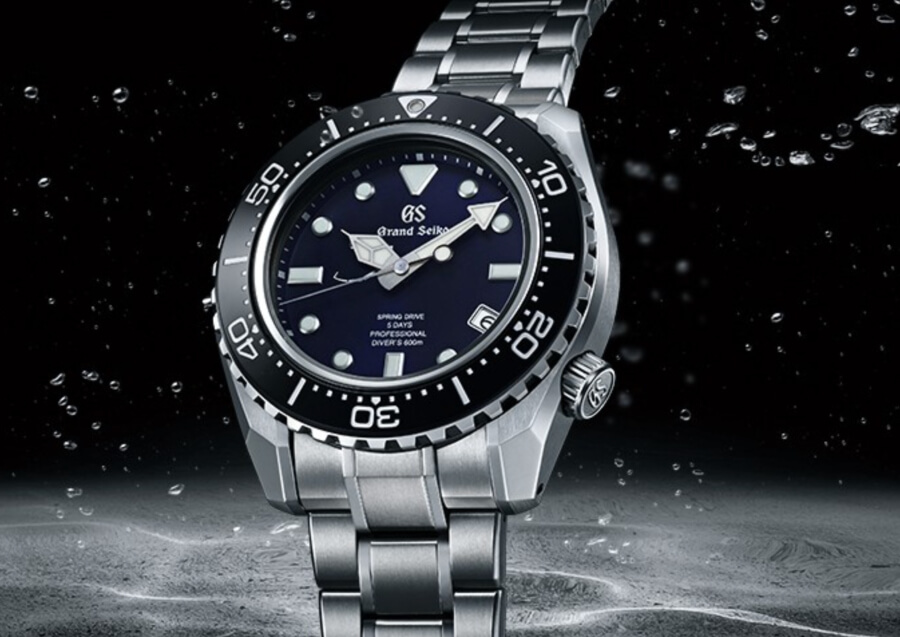 Men Watches Grand Seiko 60th Anniversary Limited Edition Professional Diver's 600M
