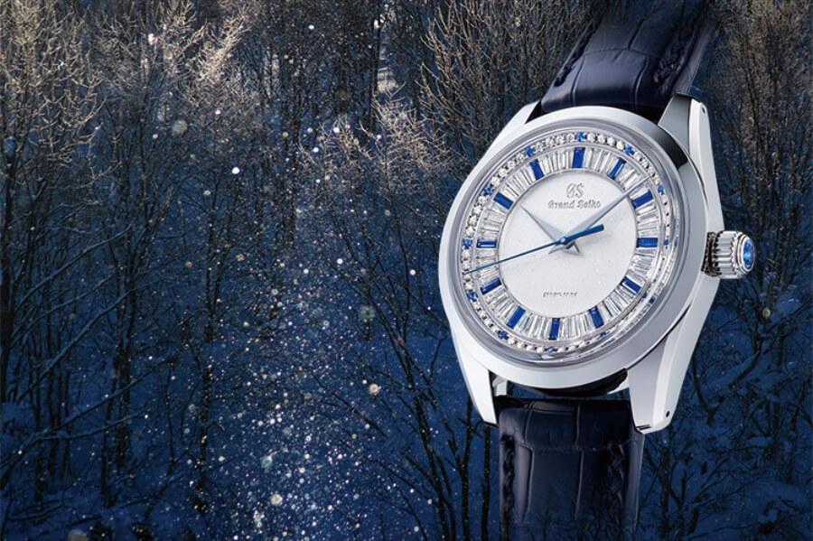 Grand Seiko Diamond Watch
