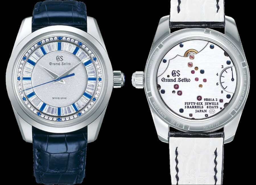 Grand Seiko Masterpiece Collection Spring Drive 8 Days Jewelry Watch Review