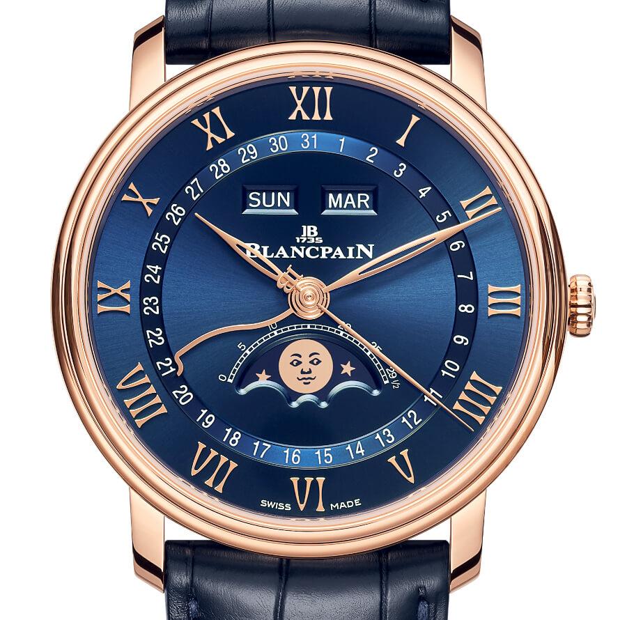 The New Blancpain Perpetual Calendar Blue Dial