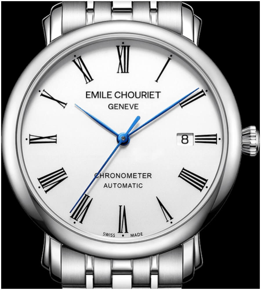 The New Emile Chouriet Lac Léman Classic Chronometer