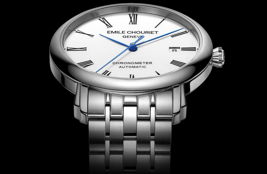Emile Chouriet Lac Léman Classic Chronometer Men Watch