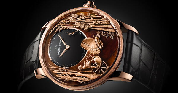 Jaquet Droz Loving Butterfly Automaton (Price, Pictures and Specifications)