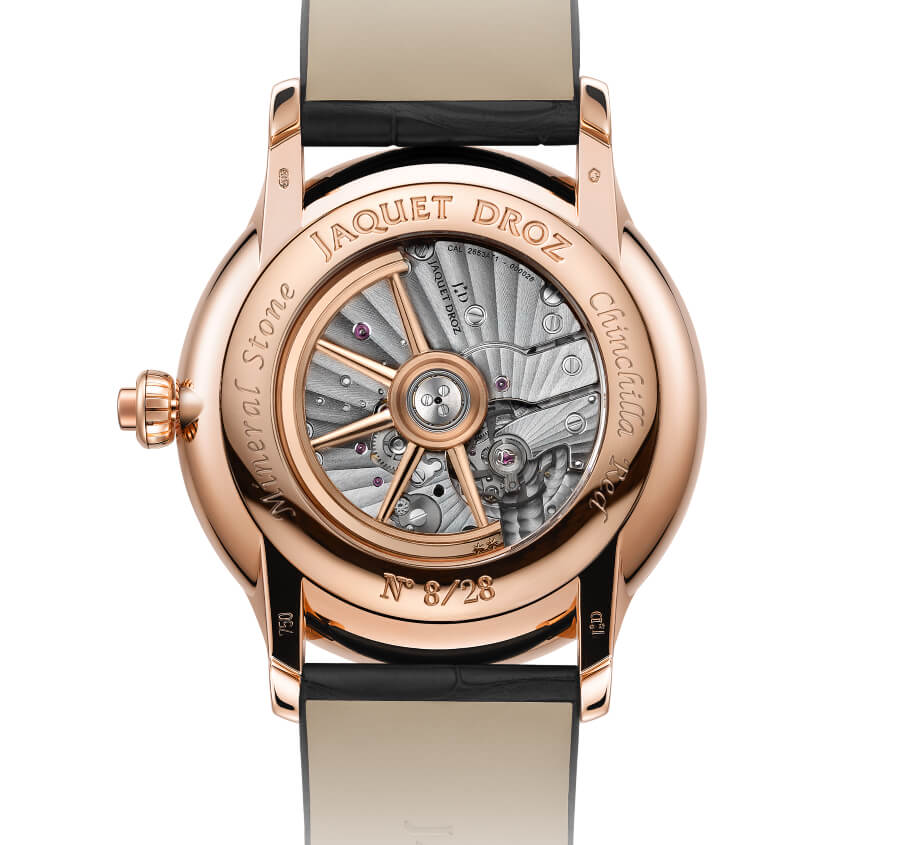 Jaquet Droz Loving Butterfly Automaton Watch Movement