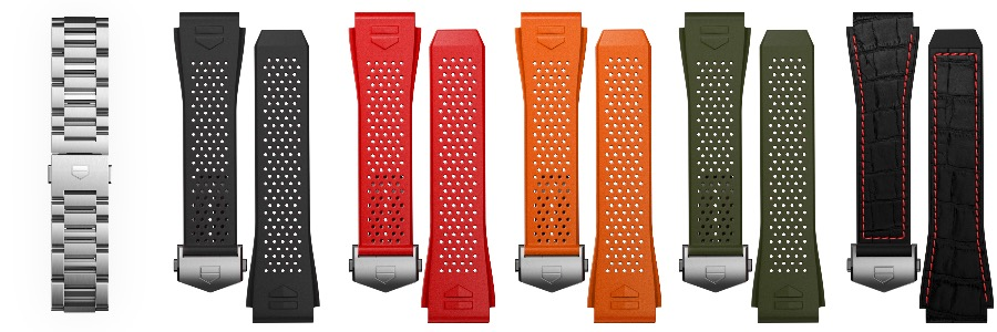 The New TAG Heuer Connected Watch Straps for sale