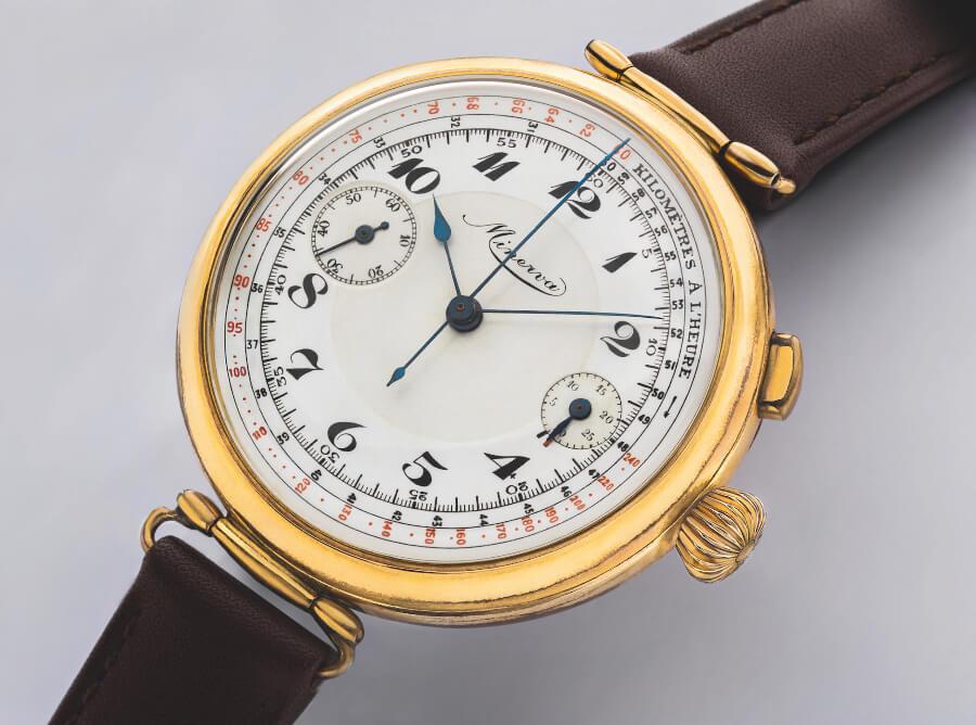 minerva mono pusher Watch