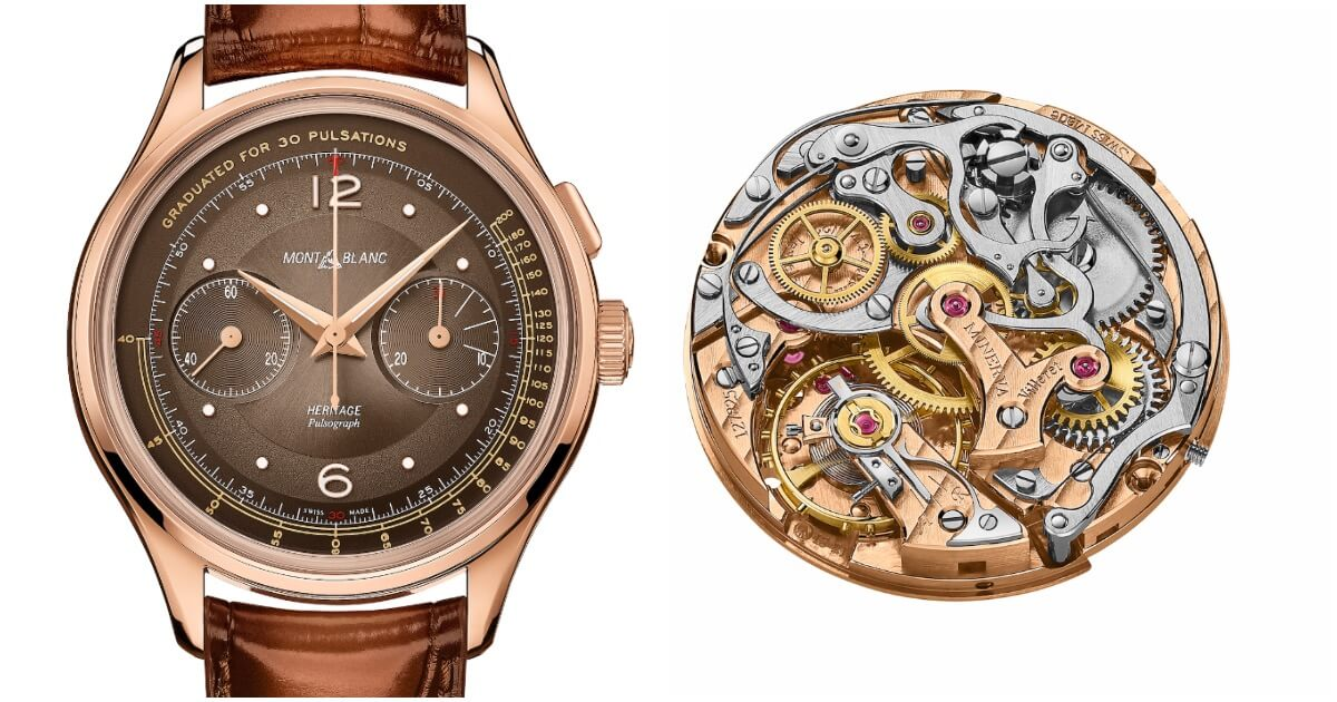 Montblanc Heritage Manufacture Pulsograph Limited Edition 100 pieces (Price, Pictures and Specifications)