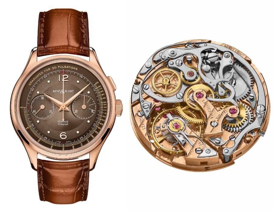 Montblanc Heritage Manufacture Pulsograph Limited Edition 100 pieces