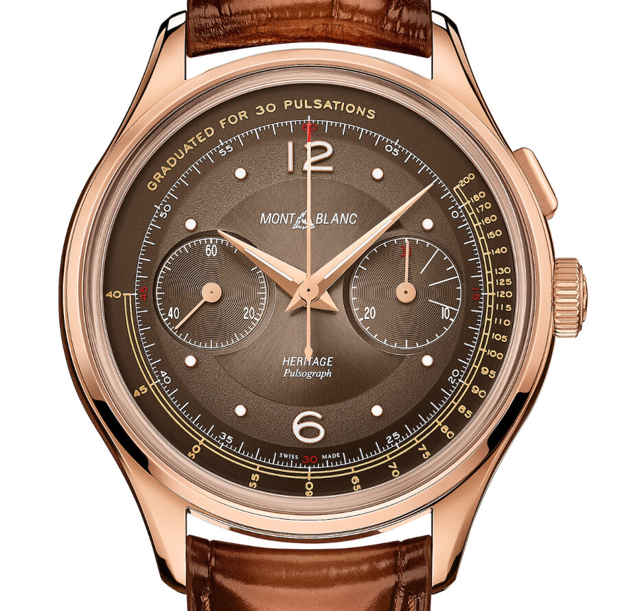 The New Montblanc Heritage Manufacture Pulsograph Limited Edition 100 pieces