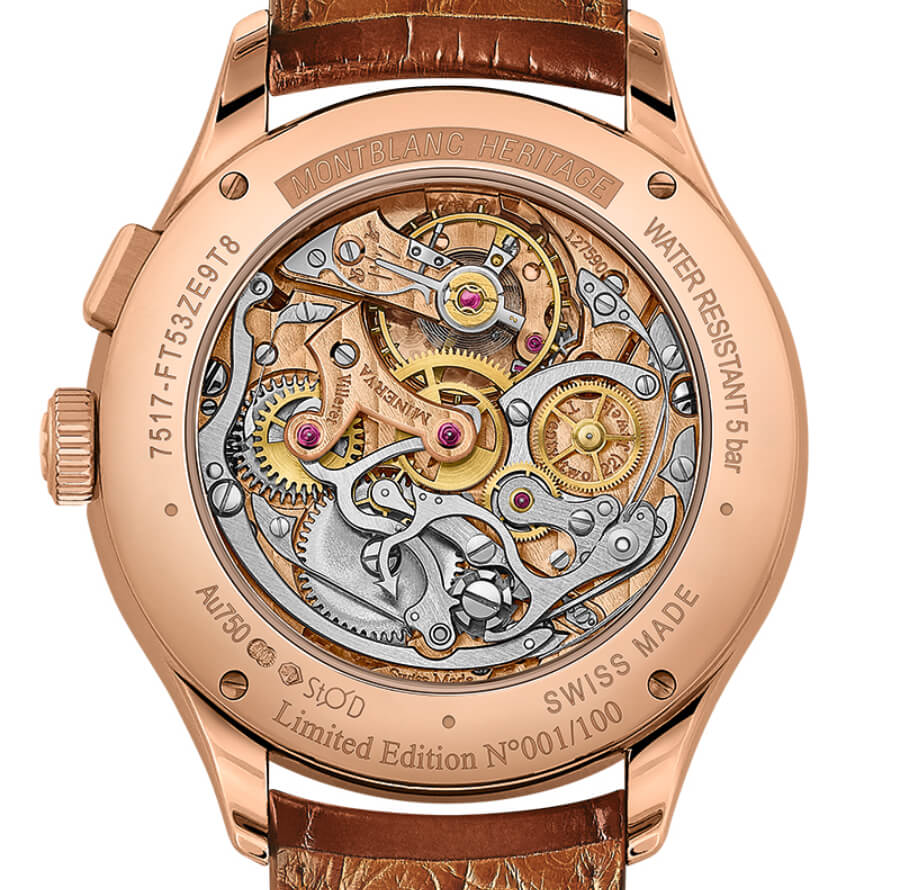 Montblanc Heritage Manufacture Pulsograph Watch Movement