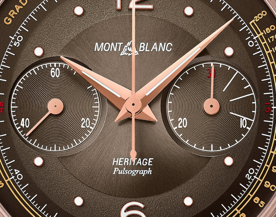 Montblanc Heritage Manufacture Pulsograph Limited Edition Ref. 126095