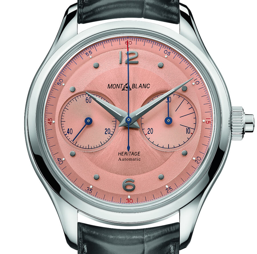 The New Montblanc Heritage Monopusher Chronograph