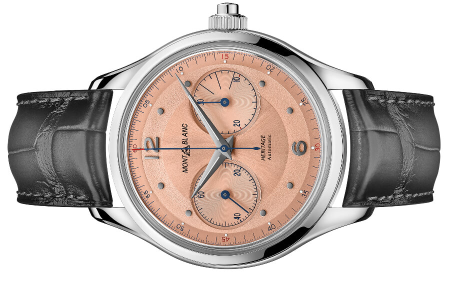 Montblanc Heritage Monopusher Chronograph Watch Review