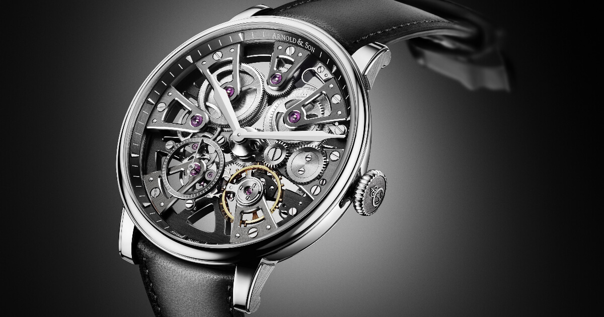 Arnold & Son Nebula 38 Steel (Price, Pictures and Specifications)