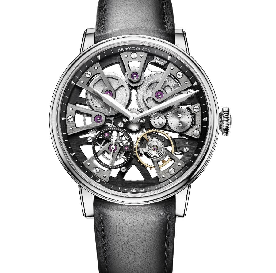The New Arnold & Son Nebula 38 Steel